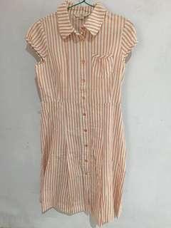 Free ongkir- Pre-loved dress casual