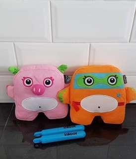 #SparkJoyChallenge INKOOS Plush Toy with Washable Markers (2)