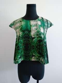 Cameo cropped top AU 8
