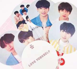 BTS LOVE YOURSELF MINI FAN
