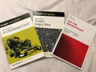 VCE English Study Guides