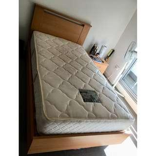 King Single Bed with Frame