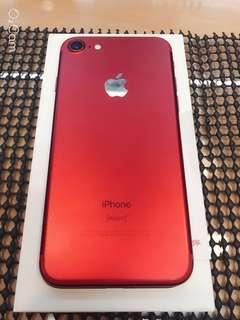 紅色(紅) apple I phone 7 IPhone 7 IPhone7 I7 4.7寸 128g