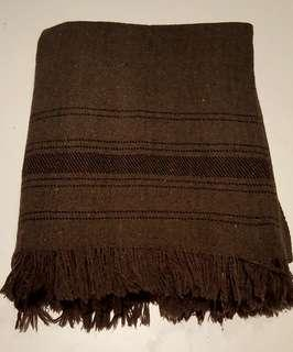 Patoo Afghan Wool Shawl / Blanket