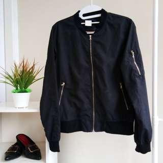 Magnolia jacket bomber black