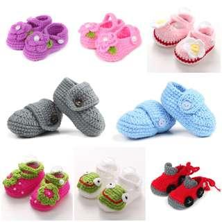 🚚 Crochet Baby Shoes