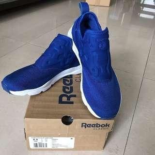 Reebok Furylite Slip Contemp sport shoes藍白運動鞋 波鞋 球鞋