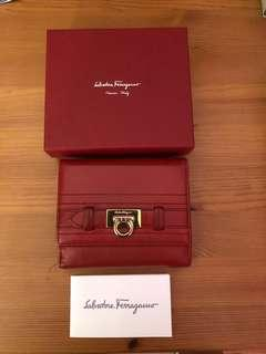 Ferragamo Red Wallet