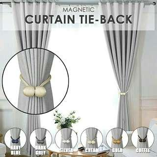 2pcs Magnetic Curtain Tie Back / Window Curtain Rope