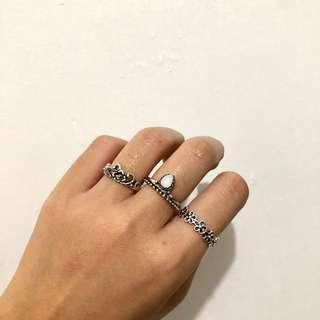 Bohemian Ring Set