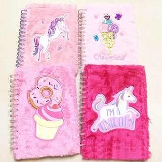 Unicorn plush Notebook
