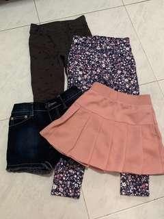 🚚 Bundle Sale legging jeans and shorts also skirt