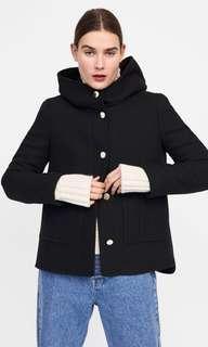 🚚 Zara Buttoned Coat Size XS