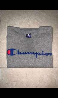 Authentic Champion Sweater grey tee