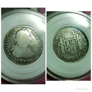 Carolus III OLD COINS
