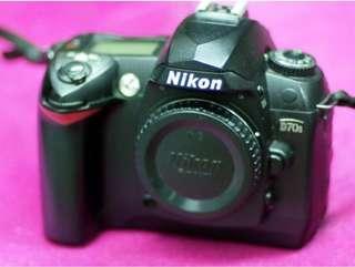 nikon d70s body only