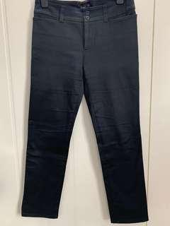"agnes b Black Trousers made in France (Size 40) waist 31"" 黑色長褲 腰圍31吋"