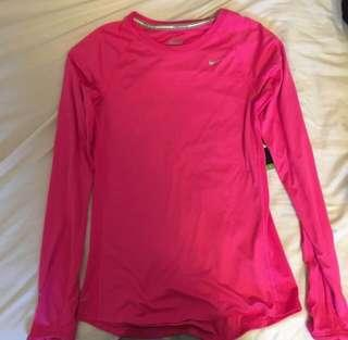 NIKE RUNNING TOP (LOWERED)