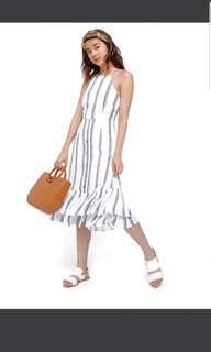 Love bonito vittoria cross back dress