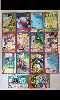 Dragonball retro cards