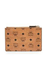 🚚 MCM Cognac Mini Wallet