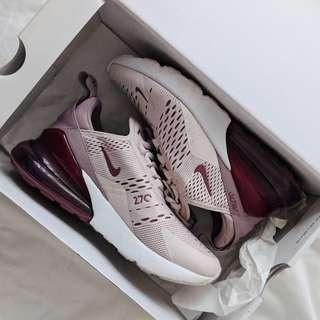 Nike Air Max 270 'Barely Rose - size 37