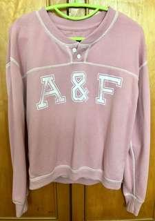 Abercrombie & Fitch Sweater in dusty pink