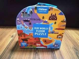 🚚 Mideer Our World Floor Puzzle