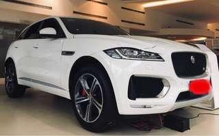 英國豪車Jaguar FpaceS 速度機器