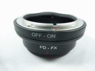 🚚 [一直攝] FD-FX 轉接環(全新品)