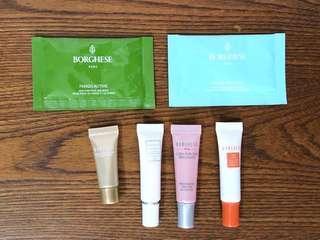 BORGHESE sample 試用裝 mask 面膜 精華素 眼霜 面霜 補濕 試用裝 體驗裝 旅行裝