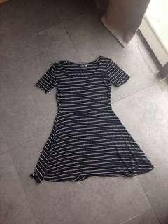 Skater Stripe Dress #Sparkjoychallenge