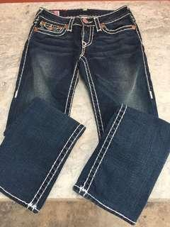 True Religion Jeans Section Billy Super T Size 27