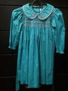 Light blue girl dress