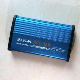 Align RCC-3SX 充電器 Balance Charger Li-Po/Li-ion 2-3 Cell
