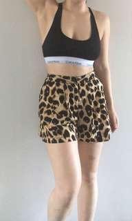 Cutest Leopard Print Shorts
