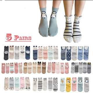 Cute socks for sale! (PO)