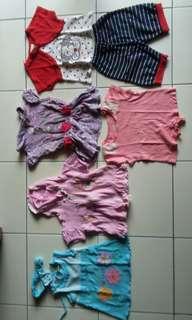 Baju bayi cewe