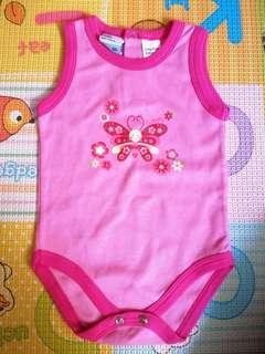 🚚 Butterfly Pink Romper