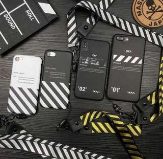 """""""OFF WHITE"""" IPHONE CASE"""