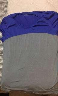 Blue and grey shirt (med)