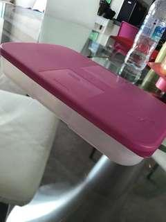 Tupperware pink brand new 650ml, 550ml when chilled