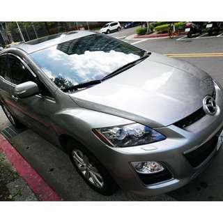 自售可議 日本進口 2012 Mazda/馬自達-CX7-2.3少跑(稅金2.0享有2.3的動力)