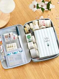 [PO] stationery carrying case - animal series