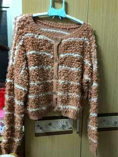 🚚 二手-粉針織外套原價790