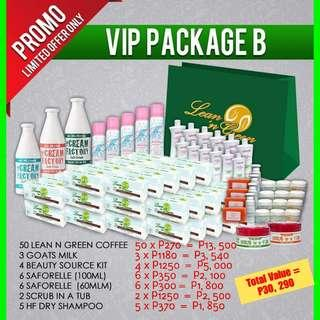 VIP Package for Business