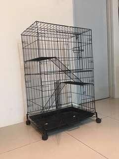 2 Level Cat Cage