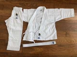 Adidas WKF Kid's karate Gi - lightly used