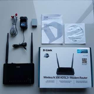 D-Link Wireless Modem Wifi Router