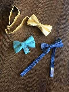 Pack of 3 Bow ties for baby boys